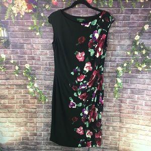 Ralph Lauren Women's Black Sleeveless Dress 14